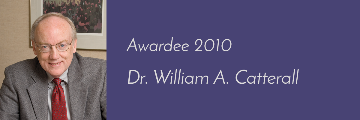 Dr. William A. Catterall